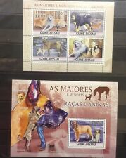 Guinea Bissau 2010 Dogs on postage stamps perf. MNH**Del.4