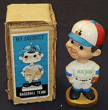 1969-1971 MONTREAL EXPOS - MLB BOBBING /BOBBLE HEAD /NODDER with BOX - ORIGINAL
