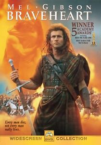 Like New DVD Braveheart (Widescreen Edition) Academy Award Mel Gibson WS