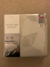 Next Jacquard Leaf Double Bed Set Bedding Cover