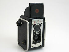 KODAK DUAFLEX II TLR Camera Black Twin Kodet Lens Box sn270