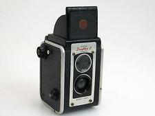 Kodak Duaflex II TLR camera black twin Kodet lens box   sn270