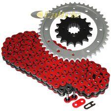 Red O-Ring Drive Chain & Sprocket Kit Fits HONDA VFR800 FI Interceptor 800 02-13