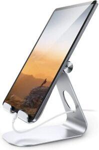 Lamicall Tablet Stand Adjustable Tablet Holder Desktop Stand Dock Compatible