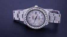 23 Carat Diamonds New Rolex DateJust II 2 Iced Out Box, Paper & Appraisal ASAAR