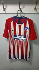 CAMISETA SHIRT ATLETICO MADRID PLAYER ISSUE MATCH UN WORN 18/19 HOME M