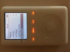 Apple iPod Classic 3rd Gen 15 GB 15gb White Vintage MP3 Player
