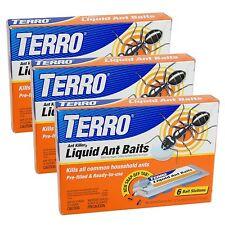 3-Pack Terro T300-3 Ant Killer Liquid Ant Baits
