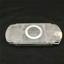 Transparent Clear White Housing Shell Case Kit for Sony PSP 1000