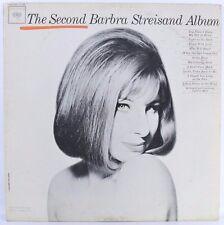 "Barbra Streisand – The Second Barbra Streisand Album 1963 [NM] VINYL 12"" LP"