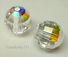 496pcs Peacock Green Crystal Loose Bead 3x4mm