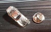 PORSCHE PIN 964 911 modello 3D ARGENTO BRILLANTE 27x11mm