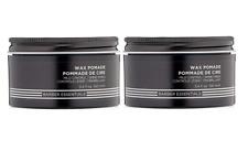 Redken for Men Brews Wax Pomade Mild Control  3.4 oz(Pack of 2) New