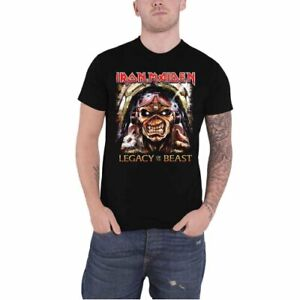 ** Iron Maiden Aces High Legacy of the Beast T-Shirt Official **