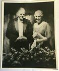 1933 Photo President Herbert and Lou Hoover Black White 8 x 10 Duplicate Copy