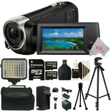 Sony Handycam HDR-CX405 Camcorder + Two 32GB MicroSD Accessory Kit