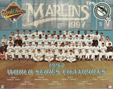FLORIDA MARLINS 8x10 TEAM PHOTO Major League Baseball 1997 WORLD SERIES CHAMPS