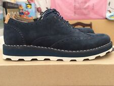 Brand New! Clarks Blue Suede Shoes Size 6.5/40