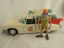 Vintage The Real Ghostbusters ECTO 1 & Zombie Figure Kenner 1980s Used Played