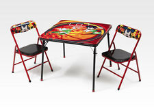 Disney Mickey Mouse Childrens Metal Table & Two Chairs Set Kids Bedroom Playroo1