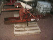 Shaver Post Driver Tractor 3-Pt Post Pounder Pioneer