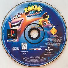 Crash Bandicoot 3 Warped (PlayStation 1) PS1 Game