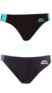 BNWT Boys SLAZENGER Swimming Trunks 9-13yrs Briefs/Swim Shorts/Pants Swimshorts