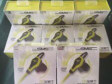 SMS Audio BioSport Sellado-Intel Biométrico Auriculares Earbud Monitor de frecuencia cardíaca
