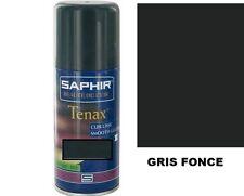 TEINTURE CUIR GRIS FONCE AEROSOL TENAX SAPHIR AVEL recolorer changer couleur