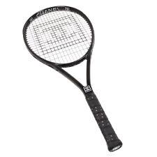 CHANEL CC Sports Line Tennis Racket Black G1 4 1/8 Authentic 72895