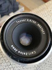 Carl Zeiss 50mm F2.8 Tessar DDR Lens For M42 Mount