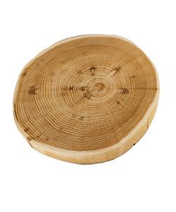 Baumscheibe Holzscheibe OHNE  Rinde  geschliffen Fi 15-25 cm; 2-3,5 cm / AKAZIE