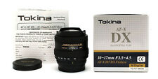 Tokina FE 10-17mm f3.5-4.5 AT-X DX DG AF Zoom Objektiv für Nikon Mount 25259