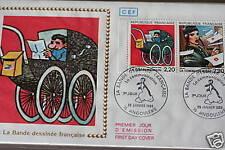 ENVELOPPE PREMIER JOUR FRANCE 1988 BANDE DESSINEE