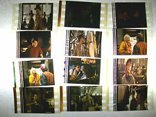 BACK TO THE FUTURE Mixed Lot of 100 Film Cells - Compliments movie dvd poster