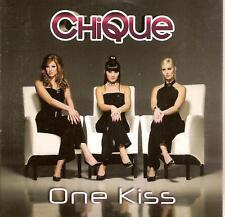 CHIQUE - one kiss CD SINGLE 3TR eurodance HOLLAND 2008