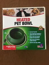 Farm Innovators Quart Heated Bowl Green