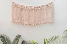 Handmade Macrame Wall Hanging Woven Wall Art Macrame Tapestry Boho Wall Decor 12