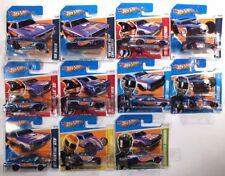 Hot Wheels 2012 HW RACING RACE TEAM série 1-10 plus Bone Shaker sur 2013 carte