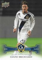 2012 Upper Deck Major League Soccer Base Common Cards LA Galaxy (#61 - #70)
