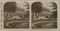 Verona I Anfiteatro Giardino Italia Foto Stereo Vintage Analogica