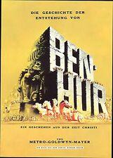 Souvenirprogramm  | Original 1960 | BEN HUR | Charlton Heston | Topzustand