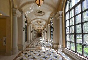 VLIES Fototapete-PALAST-(3197V)-Schloss Barock Architektur Interior Design Dekor