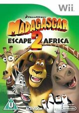 Nintendo Wii Game Madagascar 2 II Escape from Africa (Escape Africa) NEW