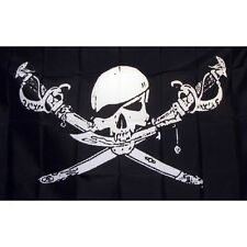 Pirate Brethern Flag Banner Sign 3' x 5' Foot Polyester Grommets