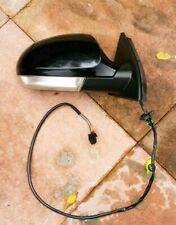 VW VOLKSWAGEN PASSAT B6 05-10 DRIVERS SIDE ELECTRIC WING MIRROR BLACK INDICATOR