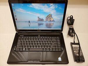 "Dell Inspiron 1545 Laptop 15.6"" Intel Pentium T4200 3GB 500GB Win-10 DVD Web-Cam"