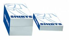 "Bulk 200 Shirt Boxes High Quality One Piece Open Ended Size:14.5""L x 8.5""W x 2""H"