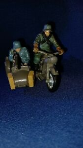 BRITAINS LTD WWII German BMW Motorcycle w/Sidecar & Riders