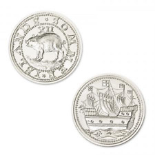 Colonial Currency Series Sommer Islands Hogge Money 2 oz .999 Silver BU Round